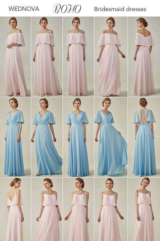 Pin Auf Bridesmaids Dresses