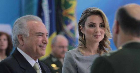 First Lady of Brazil Primeira-dama do Brasil Marcela Temer