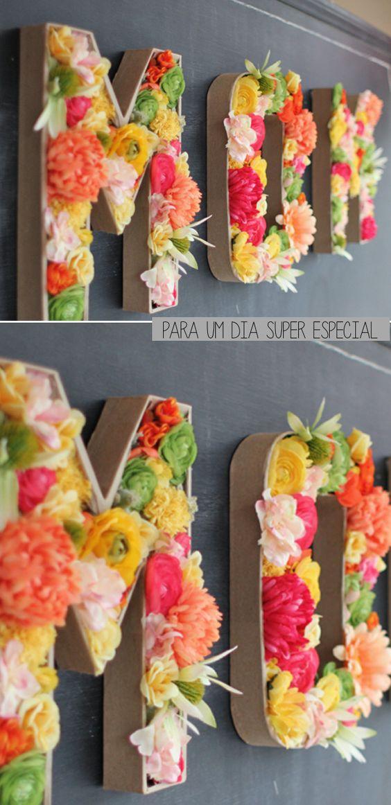Flores, cores e inspiração para o Dia das Mães | COPY: