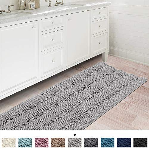 Ultra Soft Thick Washable Bathroom Mat Runner Feature Dry Https Www Amazon Com Dp B07rhslpqj Ref Cm Sw R Pi Dp U Bathroom Rugs Bath Runner Rugs Bath Rugs