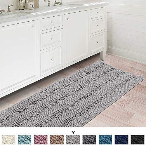 Ultra Soft Thick Washable Bathroom Mat Runner Feature Dry Https Www Amazon Com Dp B07rhslpqj Ref Cm Sw R Pi Dp U Bathroom Rugs Bath Runner Rugs Bath Rugs