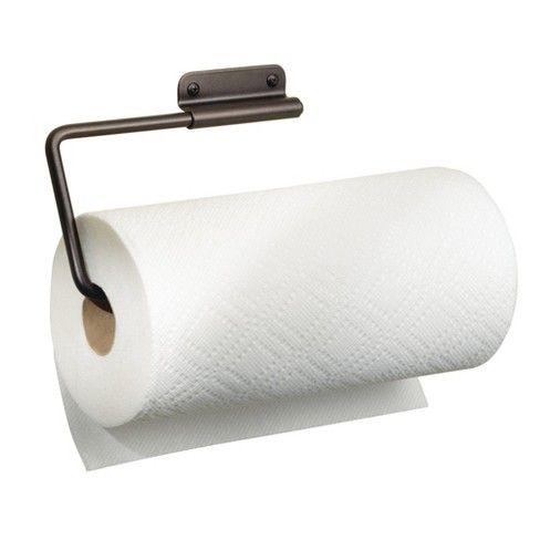 Interdesign Swivel Wall Mount Steel Paper Towel Holder Bronze Paper Towel Holder Towel Holder Metal Paper Towel Holder