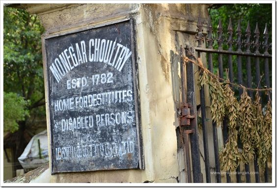 Trace the history of the old fort wall of Madras (Chennai) built in 1772 by the British to protect against Hyder Ali.
