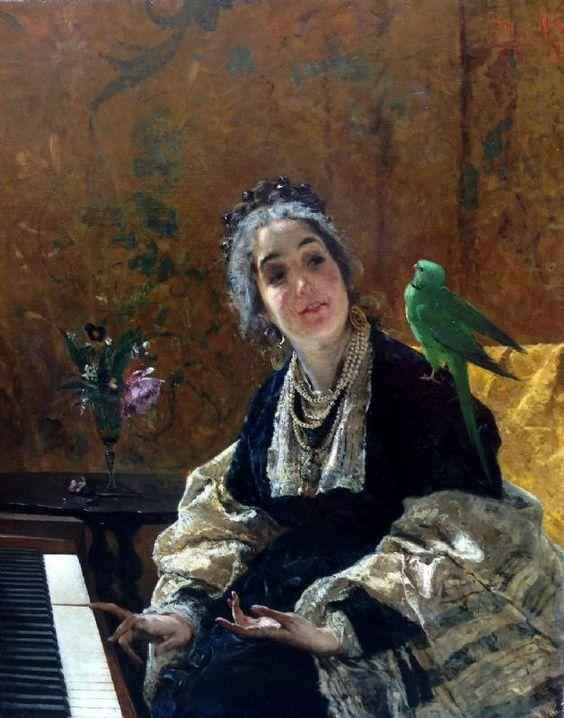 Mosè Bianchi (Italian, 1840-1904).: