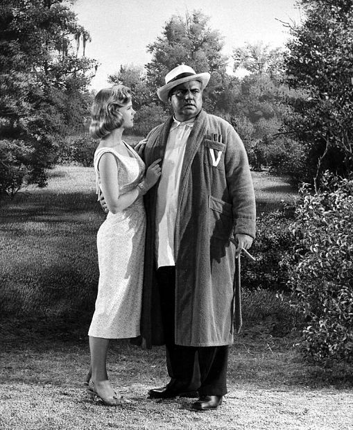 Lee Remick and Orson Welles in The long, hot Summer, directed by Martin Ritt 1958: