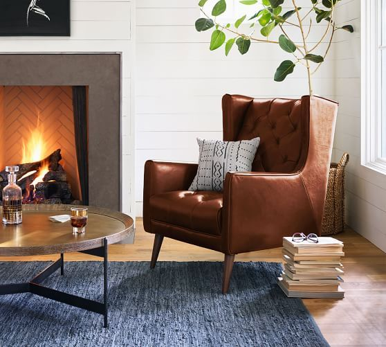 Asher Leather Armchair Leather Chair Living Room Leather Armchair Living Room Arm Chairs Living Room