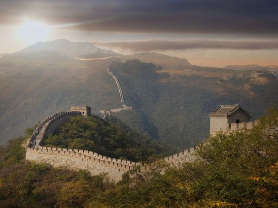 It's over 12,000 miles long, thousands of years old, and can be seen from space—no wonder the Great Wall nabbed a spot on this list.: