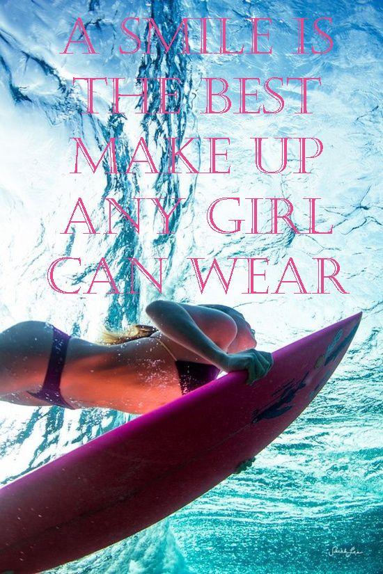 """citas celebres.  """"Una sonrisa es el mejor maquillaje que una mujer puede llevar"""".  http://cocktaildemariposas.com/2013/06/07/citas-de-moda/"""