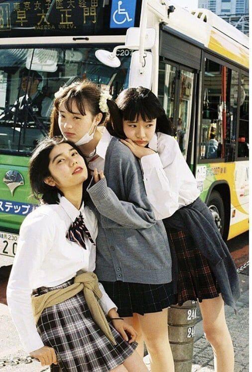 Japanese lesbian bus