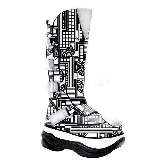 Footwear Mountain - NEPTUNE-309UV UV Reactive/Cyber Demonia, $101.95 (http://www.footwearmountain.com/neptune-309uv-uv-reactive-cyber-demonia/)