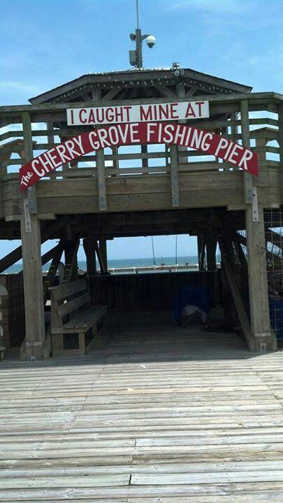 Cherry grove fishing pier at myrtle beach sc vacation for Fishing piers in myrtle beach