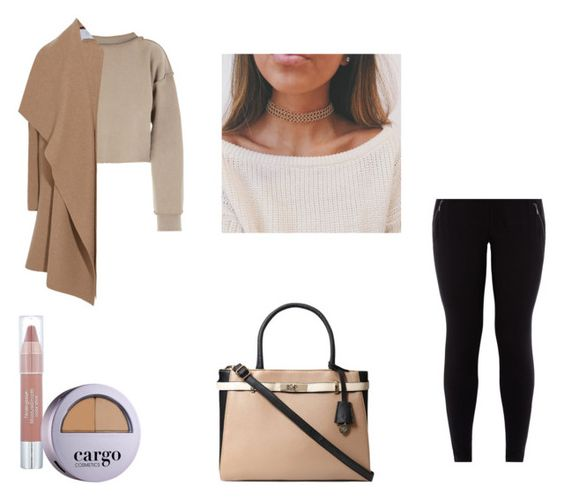 """Cargo"" by azra612 ❤ liked on Polyvore featuring My Mum Made It, New Look, Harris Wharf London, Dorothy Perkins, Neutrogena and CARGO"