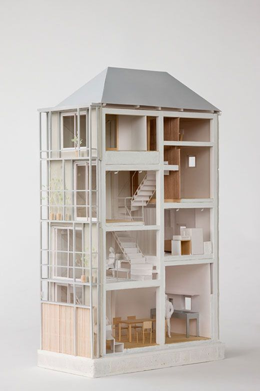 Tower machiya atelier bow wow vivienda arquitectura for De atelier architects