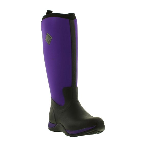 Muck Boots - Artic Adventure - Black Purple - Womens | New ...