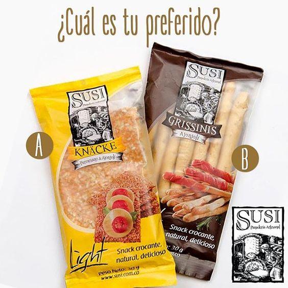 Los snacks de #SusiPanaderíaArtesanal en presentación de 30gr son perfectos para llevar contigo a todas partes. ¿A ti, cuál te gusta más, los grissinis o las galletas crocantes knäcke? #SusiPanaderíaArtesanal  #EstiloDeVidaSaludable #SnackSaludable #Susi #Granola #Cereal #Oats #Pan #Bread #Brot #Panadería #SnacksSaludables #ComidaSaludable #Cereales #FrutosSecos #Yummy #Delicious #Tasty #TradiciónAlemana #SinAditivos #Delicioso #Sano #Natural #HealthyFood #NutriciónCreativa