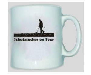 Tasse Schatzsucher on Tour - Sondengänger, Sondeln, Sondler / mehr Infos auf: www.Guntia-Militaria-Shop.de