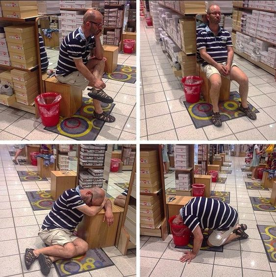 31 φωτογραφίες που δείχνουν πόσα αρέσουν τα ψώνια στους άντρες (Μέρος 2)