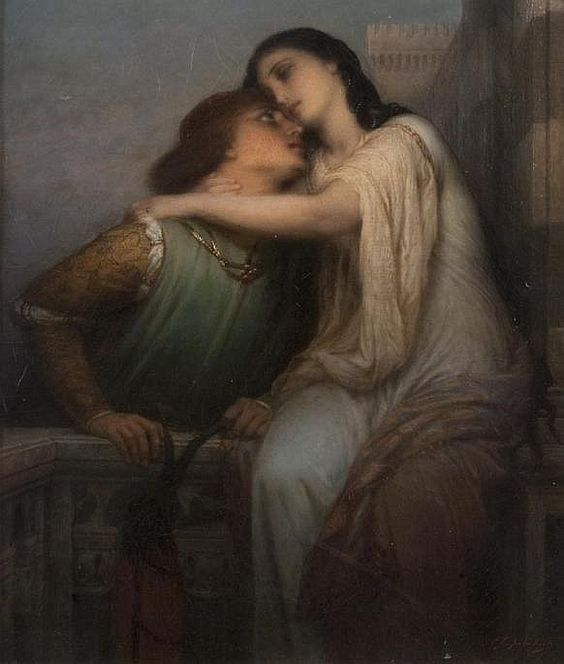 "Charles François Jalabert, ""Romeo and Juliet"""