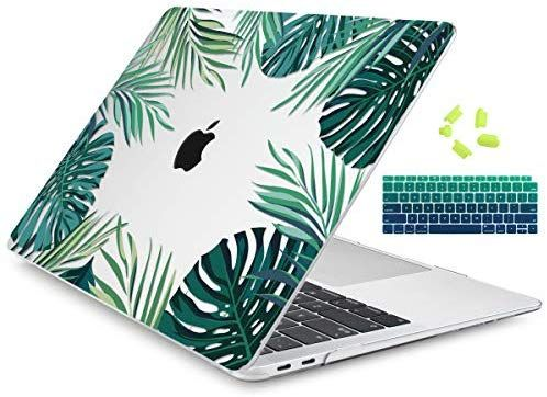 Amazon Com Dongke For New Macbook Air 13 Inch Case 2018 Release A1932 Crystal Clear Hard Shell Macbook Air Case 13 Inch Macbook Air 13 Inch Macbook Air Cover