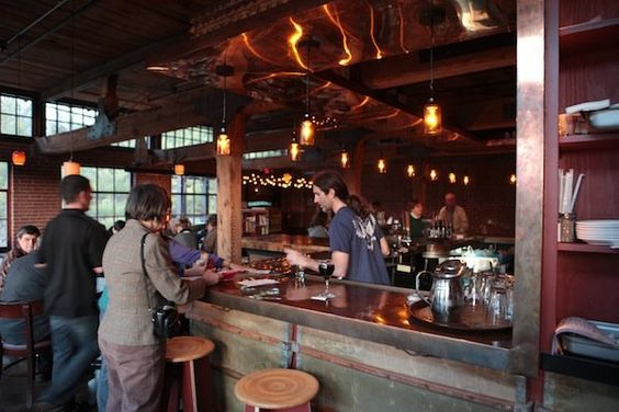 The Eddy Pub in Saxapahaw.