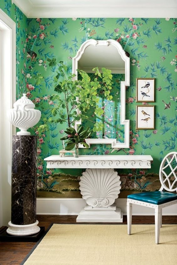 The Chinoiserie Foyer Chinoiserie Chic Chinoiserie Foyer
