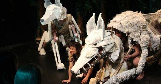 Princess Mononole - Princess Mononole --- #Theaterkompass #Theater #Theatre #Puppen #Marionette #Handpuppen #Stockpuppen #Puppenspieler #Puppenspiel