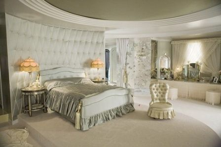 """Bedroom Furniture """"Miss Pettigrew Lives for a Day"""" Set Design.  Glamorous and romantic"""