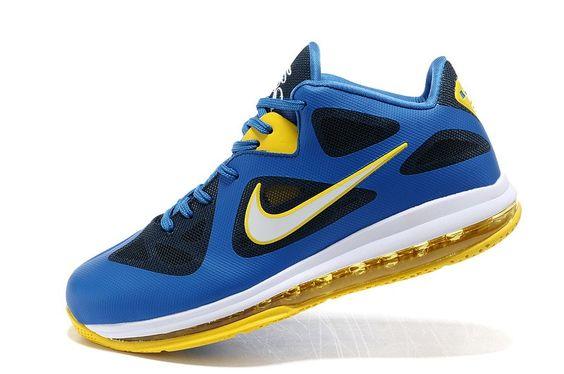 Lebron 9 Low Blue yellow!$76.40USD