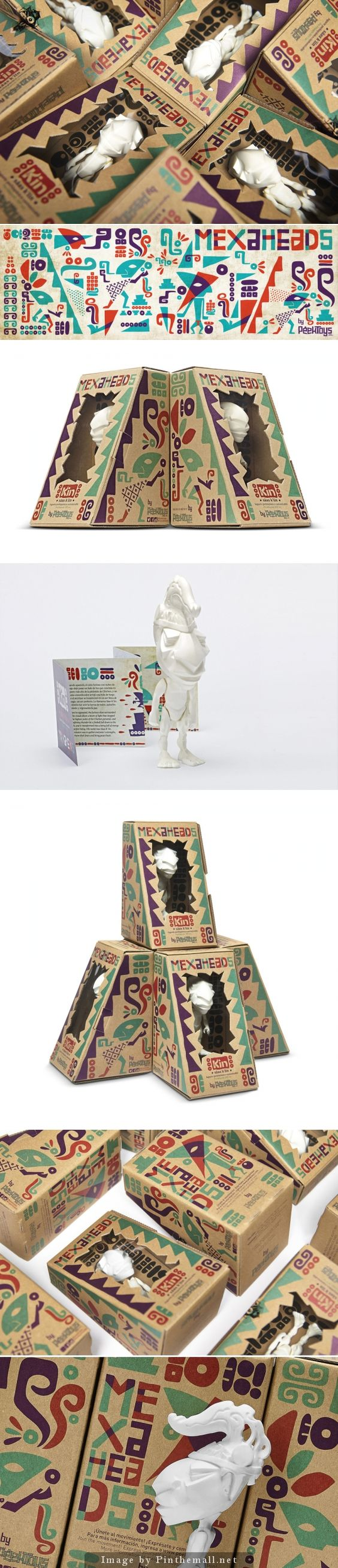 Mexaheads fun packaging PD