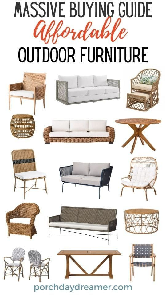 Affordable Outdoor Finds In 2021 Affordable Outdoor Furniture Furniture Outdoor Furniture Deals Best deals on outdoor furniture