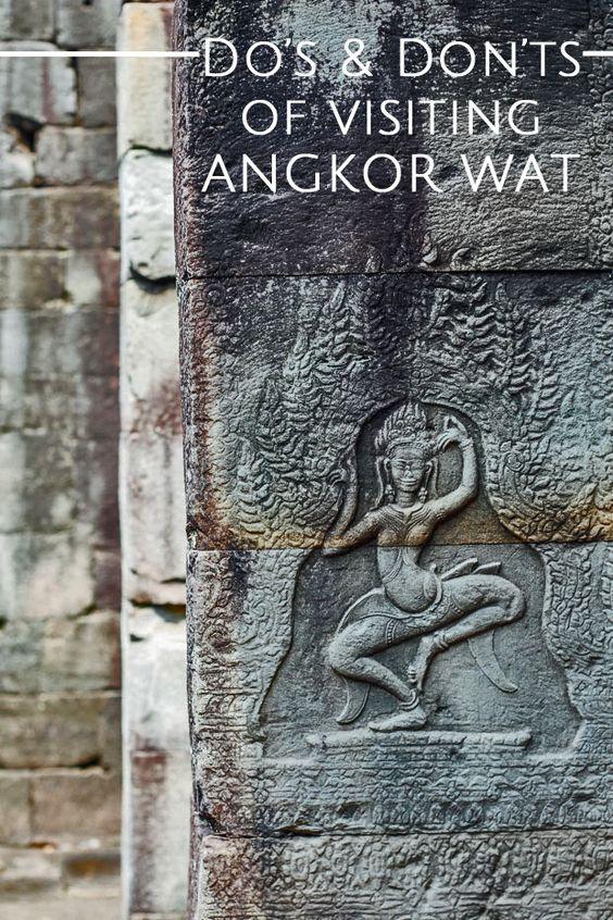 Important Do's & Don'ts of Visiting Angkor Wat   Paper Planes #travel #cambodia #angkorwat