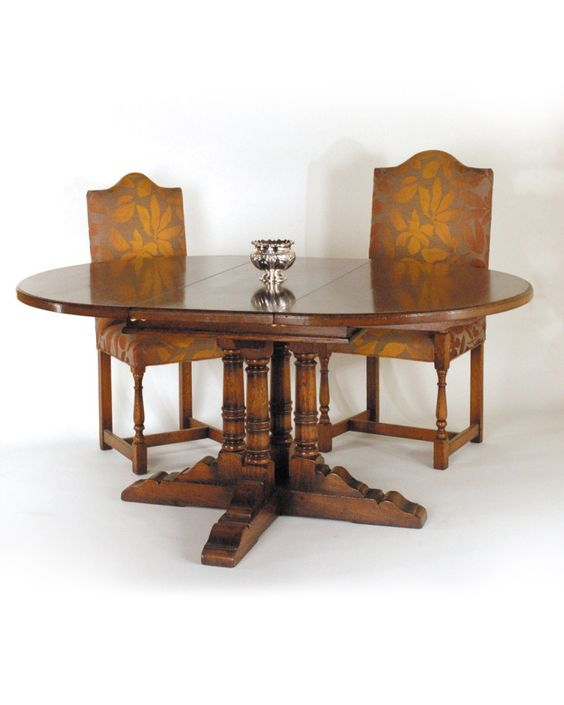 Good Titchmarsh And Goodwin Handmade English Furniture   English Oak/Tables  English Oak Extending Dining Table With Loose Leaves   Dining Room    Pinterest ...