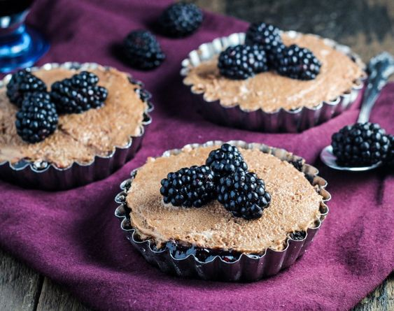 Chocolate Mousse and Blackberry Tartlet Recipe