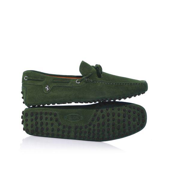 TOD'S FOR FERRARI | Tod's for Ferrari - Gommino Laccetto Cavallino Rampante. Buy now on store.ferrari.com #ferraristore #tods #shoes