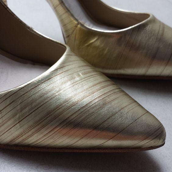 Dressbe | Scarpin Capodarte Dourado