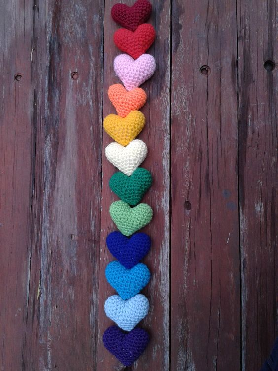 Crochet Pattern Amigurumi Turtle Crochet Keychain : Love Hearts. Free Pattern; http://owlishly.typepad.com ...