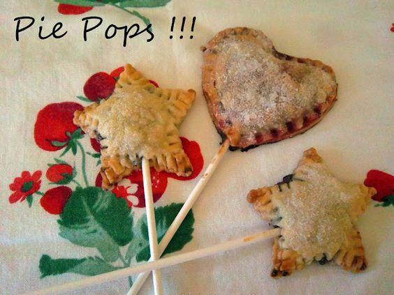 Yummy Nutella Pie Pops