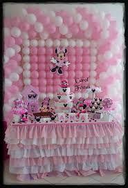 Resultado de imagem para decoração festa infantil minnie rosa vintage