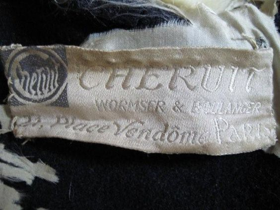 Chéruit label, post 1915?, Wormser & Boulanger