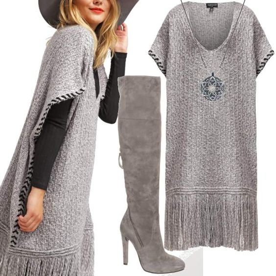 Light Grey Sensation #fashion #mode #look #style #trend #outfit #sexy #luxury #stylaholic