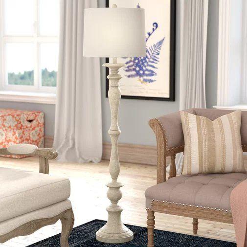 Joaquin 60 Floor Lamp Farmhouse Floor Lamps Lamps Living Room Traditional Floor Lamps