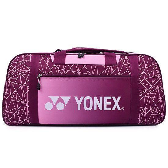 Yonex Badmionton Tennis Racket Bag Purple Shoulder Sport 6 Packs Racket 89bt003u Yonex Purple Bags Tennis Racket Bag Purple Bag