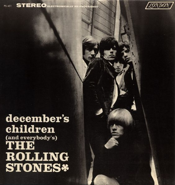 The Rolling Stones Aftermath Album Cover