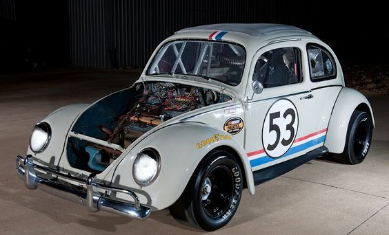 Nascar Herbie Volkswagen Herbie The Love Bug Pinterest