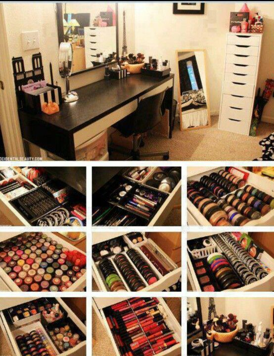 I want all this makeup ♥♥♥