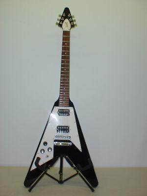 gibson flying v left handed electric guitar w case products i love pinterest guitar case. Black Bedroom Furniture Sets. Home Design Ideas
