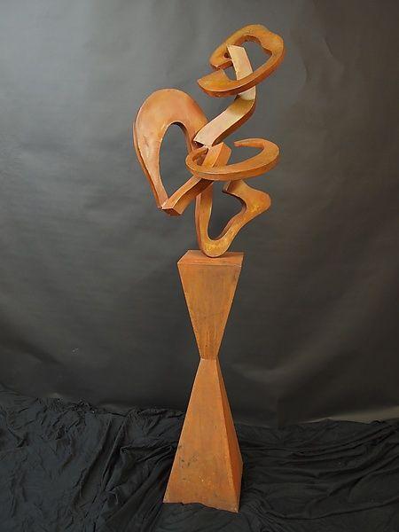 Steel Sculpture 5: David Coddaire: Metal Sculpture | Artful Home