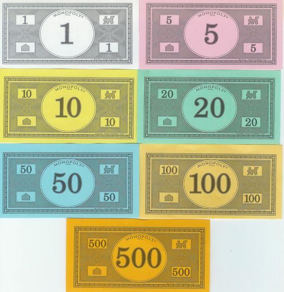 Monopoly money templates free invitation templates for Monopoly money templates