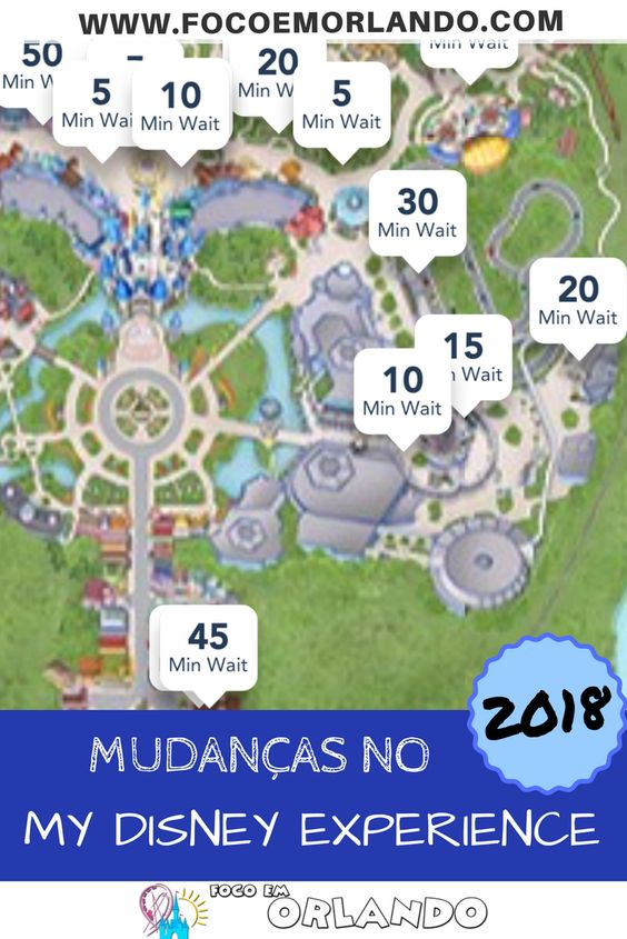 Pinterest - Mudanças no My Disney Experience, Walt Disney World