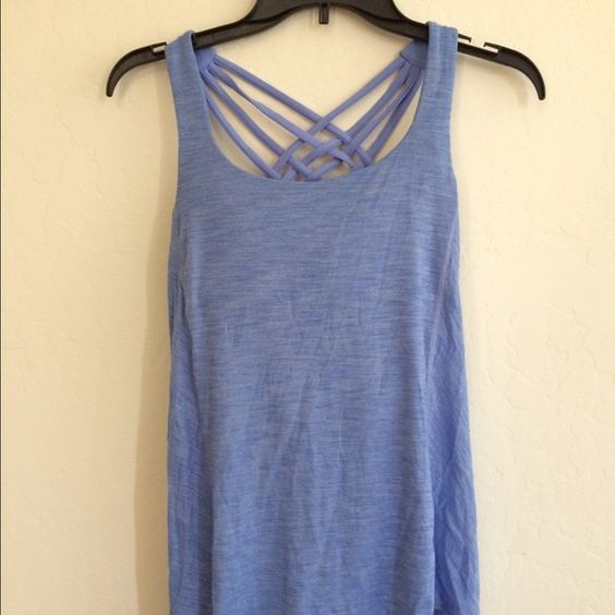 Lululemon Wild Top Worn and washed once. It's a size 4 and I wear a 6. Excellent condition lululemon athletica Tops Tank Tops